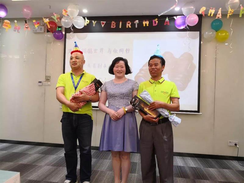 必发365官网六月生日会丨小Party,大感动-6