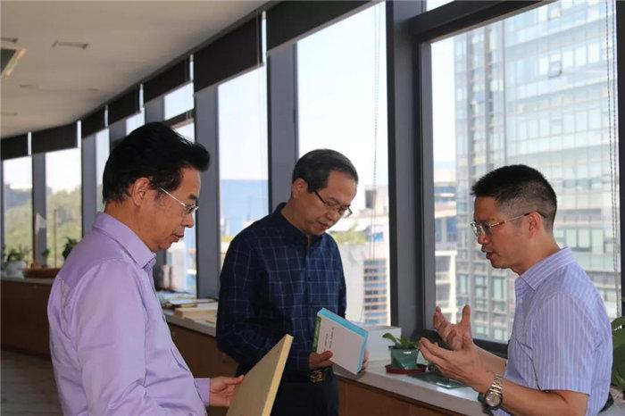 中共赣州市委常委、统战部长彭业明等领导一行到访广东必发365官网考察指导-1