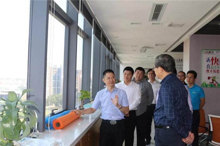 中共赣州市委常委、统战部长彭业明等领导一行到访广东必发365官网考察指导-2