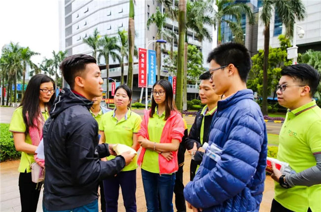 迎着光勇敢追|广东必发365官网2018极速前进拓展活动-3