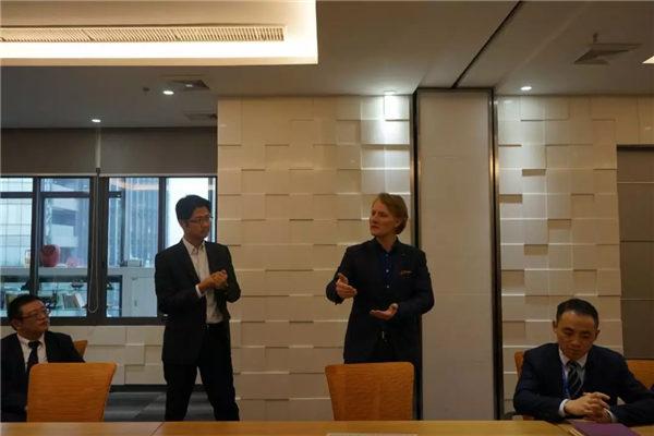 AOC力联思树脂集团欧亚CEO Bert Bakker一行莅临广东必发365官网参观指导-4