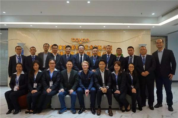 AOC力联思树脂集团欧亚CEO Bert Bakker一行莅临广东必发365官网参观指导-5