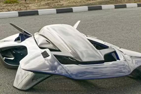 新型碳纤维复材多旋翼飞行汽车Antelope采用碳纤维织物和蜂窝芯材增强环氧树脂基复合材料