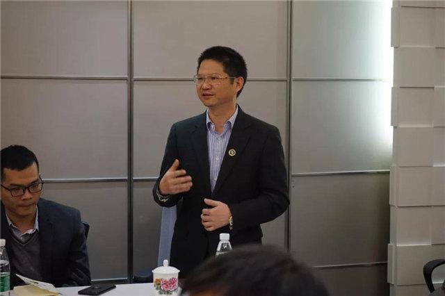 南部地区不饱和树脂生产企业座谈会在广东博皓圆满举行,广东博皓董事长赖厚平先生作了发言