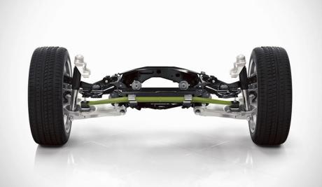 福特全顺采用玻璃纤维复合材料纵向板簧比常规钢制弹簧减重50%
