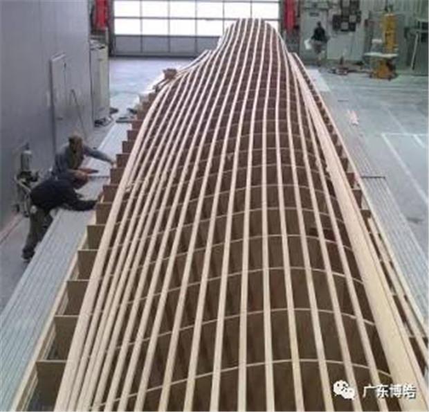 五轴加工中心应用:风电模具制造   -2