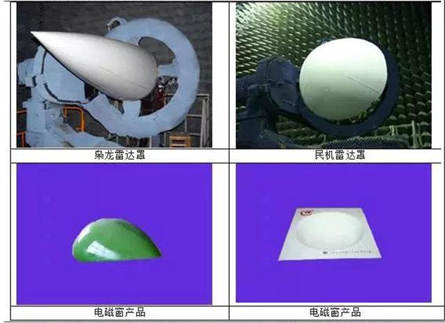 玻璃纤维增强树脂基复合材料是一种广泛应用的雷达天线罩材料