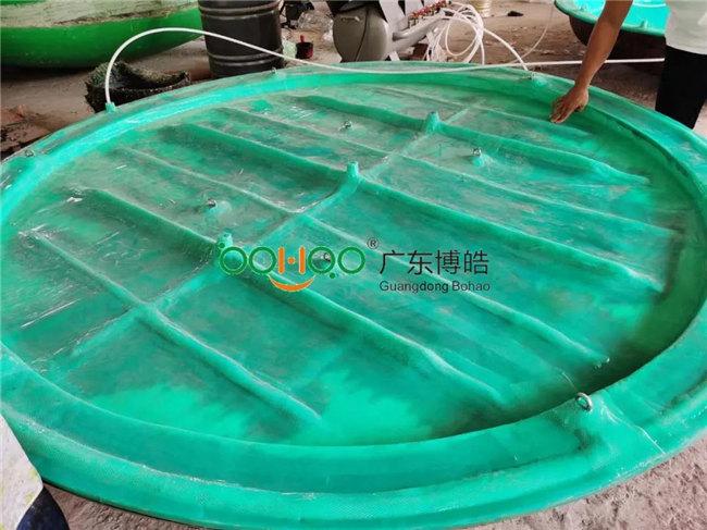 广东博皓再次圆满完成VPI新型硅胶真空成型项目:2.3米隔板