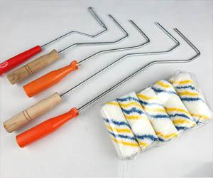 毛辊筒刷 手糊玻璃钢模具排泡压实羊毛滚筒 油漆滚筒 2-6寸毛滚 多款工业专业毛刷辊