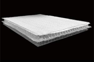 3D玻纤布 三维玻璃纤维布夹芯织物 玻纤立体毡中空织物3D布 玻璃钢双壁罐/船艇保温增强材料