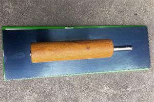 带齿镘刀 用于玻璃钢/环氧树脂地坪/自流坪地板施工 玻璃钢FRP工具厂家