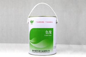 福田绿叶色浆色糊 不饱和树脂色浆 玻璃钢调色 树脂发光字用色糊色浆