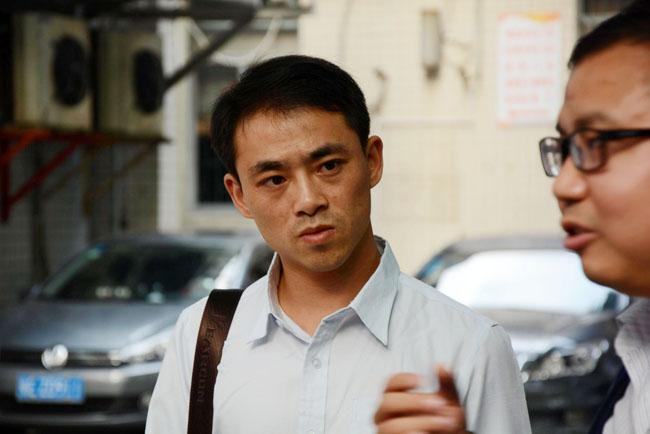 广州博皓同事探望病重治疗中的江西上犹胡荷兰老师