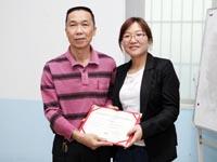 第六期广州博皓玻璃钢模具培训班毕业典礼-颁发毕业证书