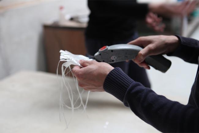 专用电动剪刀裁剪玻纤
