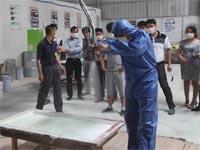 第七期广州博皓玻璃钢模具培训班FRP设备演示篇