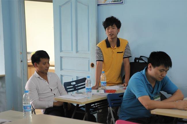 学员积极分享培训心得-2