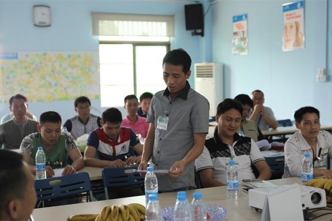 学员积极分享培训心得-6