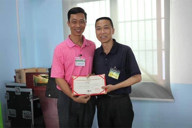 颁发毕业证书-14