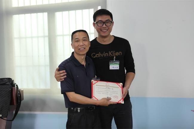 颁发毕业证书-17