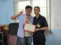 第七期广州博皓玻璃钢模具培训班毕业典礼-颁发毕业证书