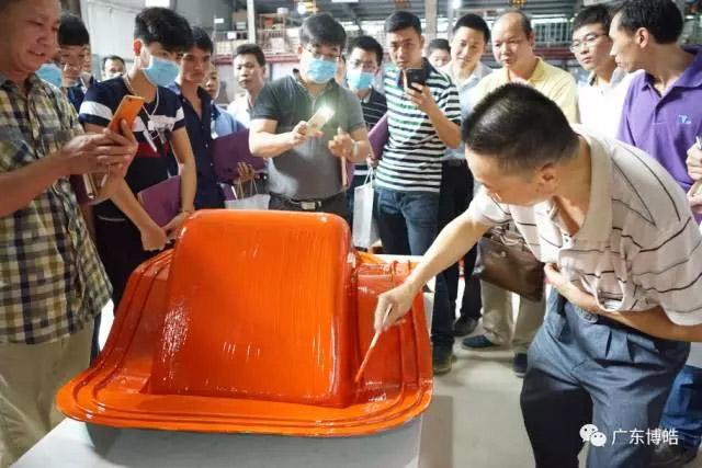 中国不饱和聚酯树脂行业协会 华南玻璃钢新技术交流培训中心第三期玻璃钢模具制作培训班-14