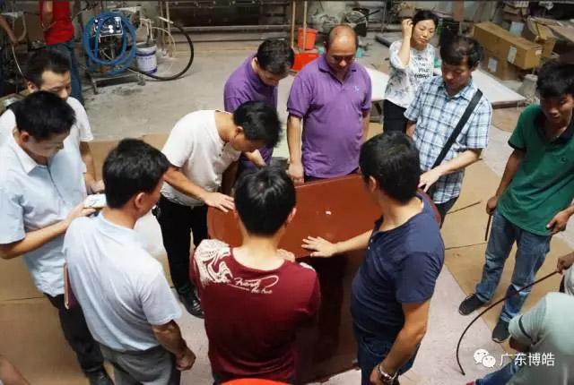 中国不饱和聚酯树脂行业协会 华南玻璃钢新技术交流培训中心第三期玻璃钢模具制作培训班-19
