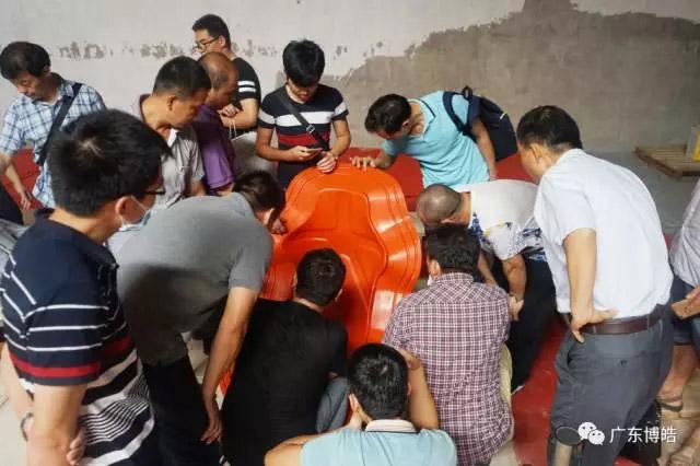 中国不饱和聚酯树脂行业协会 华南玻璃钢新技术交流培训中心第三期玻璃钢模具制作培训班-17